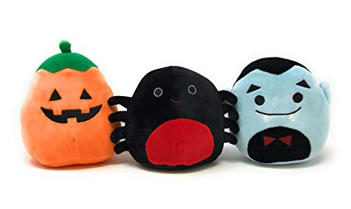 Squishmallows Halloween Squad 3 Pack - 5 inch (Dracula, Spider and -