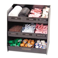 Vertiflex - Vertical Condiment Organizer 14 1/2W X 11 3/4D X 15H Black Product Category: Breakroom And Janitorial/Food Service Supplies