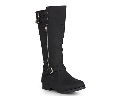 Black Calf Western Boot - 5