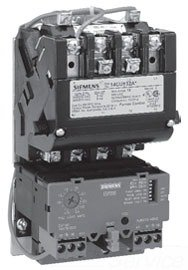 Siemens 14DUE32AA Heavy Duty Motor Starter, Solid State Overload, Auto/Manual Reset, Open Type, Standard Width Enclosure, 3 Phase, 3 Pole, 1 NEMA Size, 10-40A Amp Range, A1 Frame Size, 110-120/220-240 at 60Hz Coil Voltage