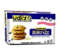 Oat Tops (Udi's Gluten Free Muffin Tops Blueberry Oat - 4 muffins per)