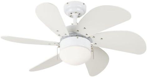 Westinghouse Lighting 7814500 Turbo Swirl 30-Inch 6-Blade Ceiling Fan