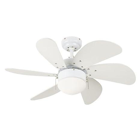 30 ceiling fan bedroom westinghouse 7814565 turbo swirl 30inch 6blade ceiling fan white with opal