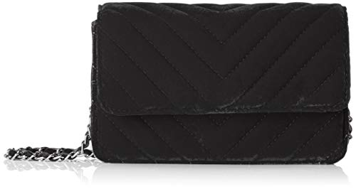 Bag Cross Velvet Black Cross Body Body Women's Pcfaith Pieces EXAHqxw0SH