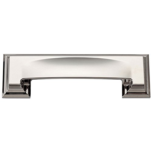 Atlas Finishing Pulls (Atlas Homewares 339-CH Sutton Place Polished Chrome 4.9-Inch Bin Cup Pull)
