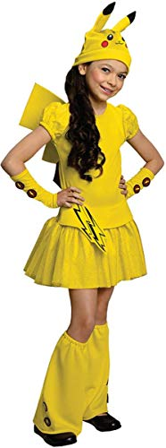 Rubies Pokemon Girl Pikachu Costume Dress, Large -