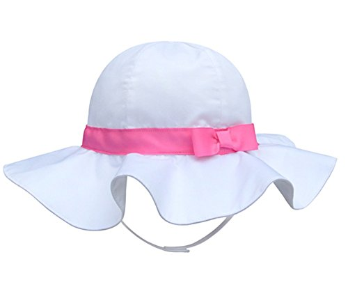 Baby Gap Hats (Turkoni Spring/summer/Autumn baby girl bowknot Cotton Hat/Beach cap/outdoor Hat (43cm(16.9