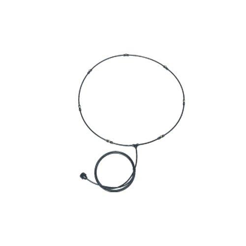 SCHAEFER MKLP42-7B Low Pressure Mist Kit for 42'' Fans, 7'' x 0.012'' Nozzles, Black