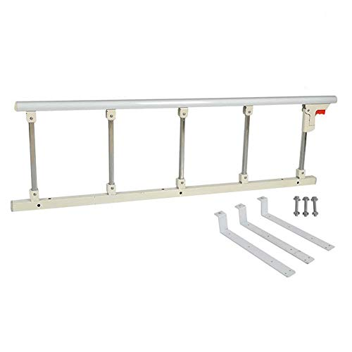 Playpens Bed Rail for Elderly/Handicap - Hospital Grade Safety Bed Rails for Seniors, Bed Side Handrail, Adult Hand Rail for King Queen Twin Size Bed, White ( Size : 120cm )