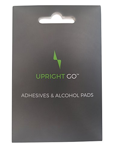UPRIGHT GO | Smart Wearable Posture Trainer, Adhesive Replacement Pack, 10 Count