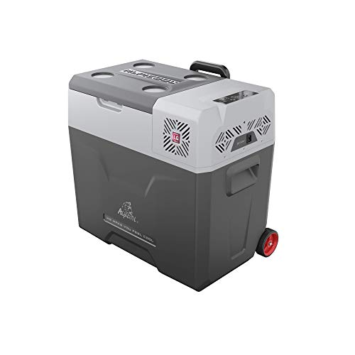 - Alpicool CX50 Portable Refrigerator 53 Quart(50 Liter) with Trolley Vehicle, Car, Truck, RV, Boat, Mini Fridge Freezer for Driving, Travel, Fishing, Outdoor and Home use -12/24V DC and 110-240 AC
