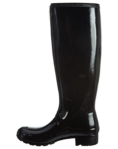 Hunter Boots Damen Original Refined Gloss Boots, Schwarz, 9 B (M) US