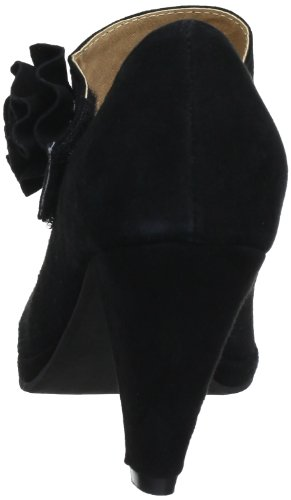 Andrea Conti 0595422 - Zapatos de tacón de cuero para mujer Negro (Nero (Schwarz (schwarz 002)))