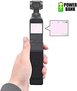 STARTRC OSMO Pocket Extension Rod Charging Case,3200mAh Fast Charging Portable Power Bank for DJI OSMO Pocket Accessories Battery Charger