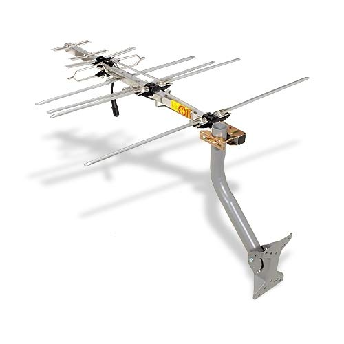 TV Antenna - RCA Outdoor Yagi Satellite HD Antenna with Over 70 Mile Range - Attic or Roof Mount TV Antenna