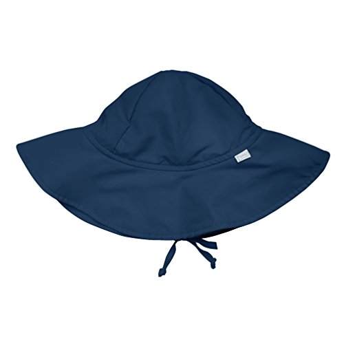 i play. Baby Brim Sun Protection Hat, Navy, 6-18 Months