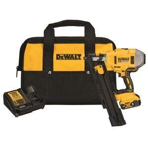 DEWALT DCN21PLM1 20V MAX 21° Plastic Collated Cordless Framing Nailer Kit