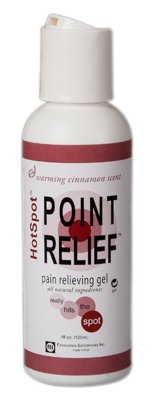 FEI 11-0780-24 Point Relief HotSpot Pain Relief Warming Gel, Pump Bottle, 4 oz. Volume (Pack of 24)