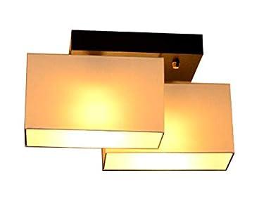 Plafonnier plafonnier milano v2d lampe applique 2 ampoules les