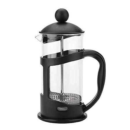 Qilo Cafetera portátil de presión Manual Francesa, cafetera for el ...