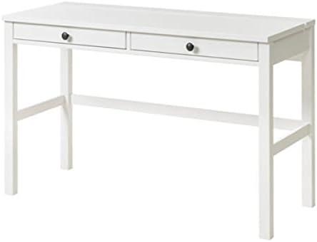 IKEA Hemnes 903.632.23 - Escritorio con 2 cajones, color blanco ...