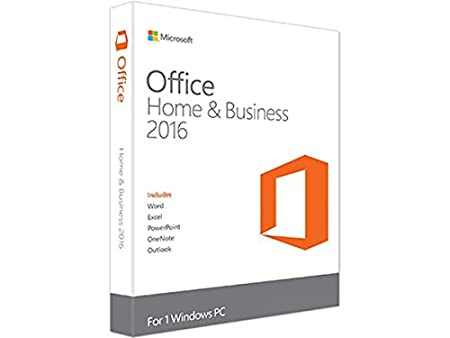 Microsoft Office Home and Business 2016 | 1 user, PC Key Card