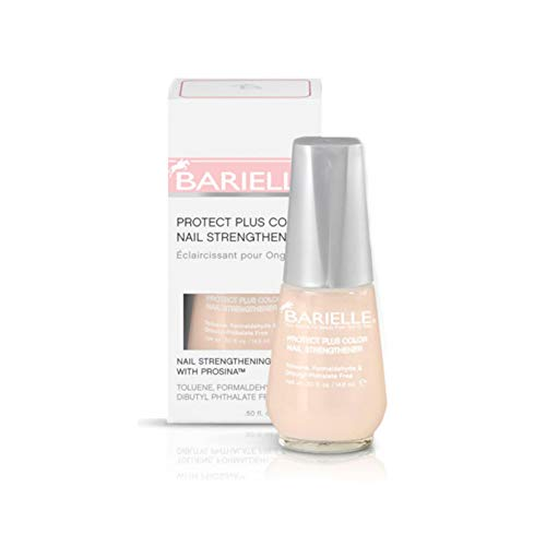 Barielle Protect Plus Color Nail Strengthener, Beige, 0.5 Ounce