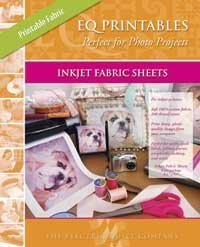 EQ Printables Inkjet Fabric Sheets,1 Pack (Wide Quilt Fabric)