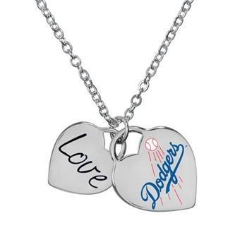 Game Time 101604 MLB LA Dodgers Heart - La Dodgers Necklace