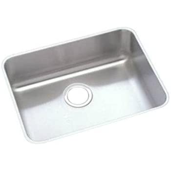 ada undermount kitchen sink elkay eluhad191655 lustertone ada undermount sink single 3986