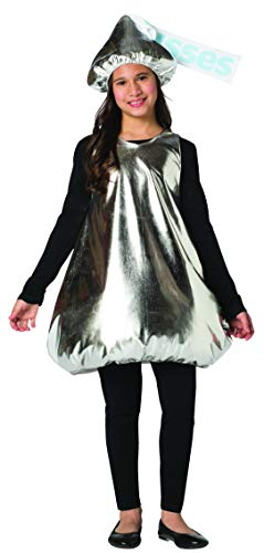 Hershey Kiss Halloween Costumes (Hershey Kiss Costume Kids Hershey's Chocolate Kisses Candy Child Size)