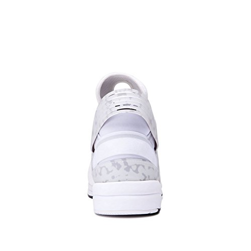 Supra Herren Skytop V18 Schuhe Weiß schwarz