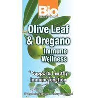 Bio Nutrition Immune Wellness - Olive Leaf and Oregano - 60 Vcaps -pack of 3 by Bio Nutrition