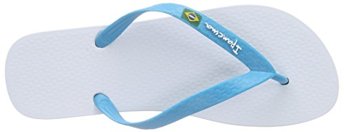 Ipanema CLAS Brasil Ii AD Herren Zehentrenner Mehrfarbig (white blue 8113)