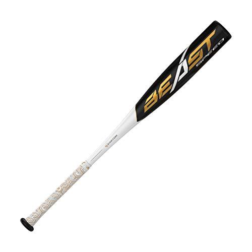EASTON Beast Speed -10 (2 5/8) USA Youth Baseball Bat | 2019 | 1 Piece Aluminum | ATAC Alloy | Speed End Cap | Lizard Skin Grip