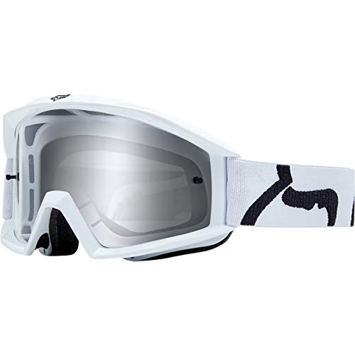 Race Small Helmet (Fox Racing Main Goggle - Race (White - NS))