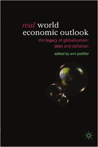 Kostenlose E-Books auf Kobo herunterladen Real World Economic Outlook: The Legacy of Globalization: Debt and Deflation 1403917957 RTF