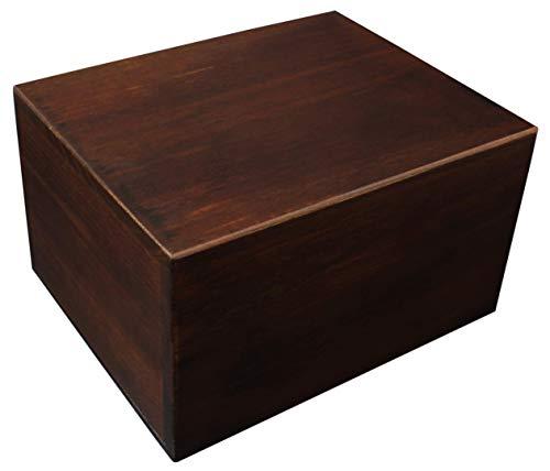 (Economy Wooden Urn Box - Extra Large)
