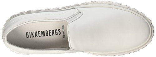 Bikkembergs Iconic 2012, Women's Slip On White (White 800)
