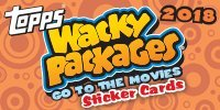 2018 Topps Wacky Packages – Back to The Movies Collector's Box