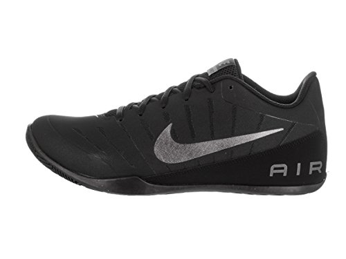 Nike Men's Air Mavin Low 2 Nbk Black/Mtlc Dark Grey Basketball Shoe 10.5 Men US
