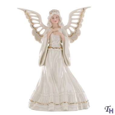 Lenox Adoring Angel Tree Topper by Lenox