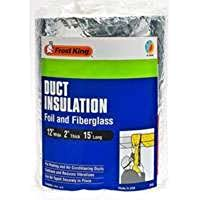 Frost King Duct Insulation 15  L X 12  W X 2  D