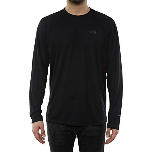 - The North Face Men's Long Sleeve FlashDry Crew, TNF Black 2XL
