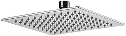Satin Gold Jaclo S209-SG 8 Square Brass Rain Machine Showerhead