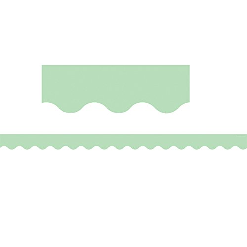 Teacher Created Resources Mint Green Scalloped Border Trim -