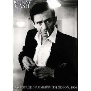 johnny cash poster backstage at hammersmith 1966 24x36 prints posters prints. Black Bedroom Furniture Sets. Home Design Ideas
