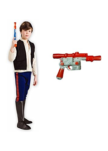 [Big Boys Star Wars Movie Han Solo Costume Kit] (Movie Star Costumes For Boys)