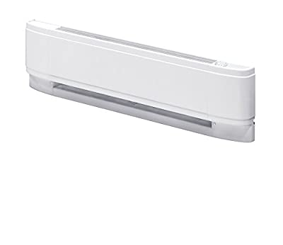 "Dimplex PC2507W31 Baseboard Heater 25"", White"