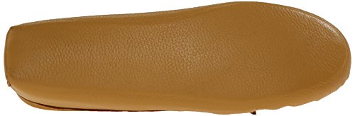 Softsole Mocassins femme Double Beige loafers 5 Beige 39 Deerskin Minnetonka naturel wpx4OEx